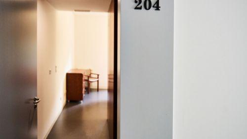 Porta de acesso ao quarto